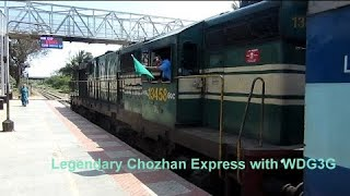 Indian Railways : WDM WDG Diesel Electric Locomotives in Action at Kumbakonam Station