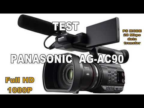 Panasonic Ag Ac90 Broadcast Picture Test