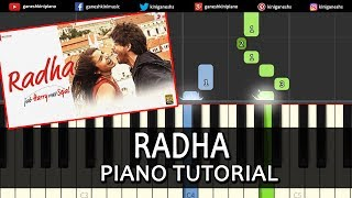 download lagu Radha Jab Harry Met Sejalhindi Songshah Rukh Khan Piano gratis