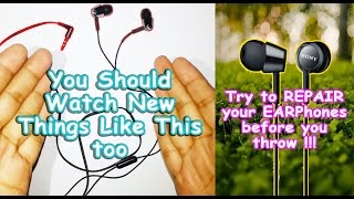 One Earphone not Working Fixed - Latest 2017 Short Video