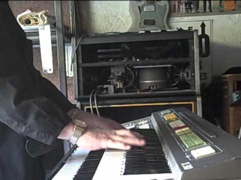 Fabulous ELKA X30 Organ & Leslie 925 Speaker Cabinet
