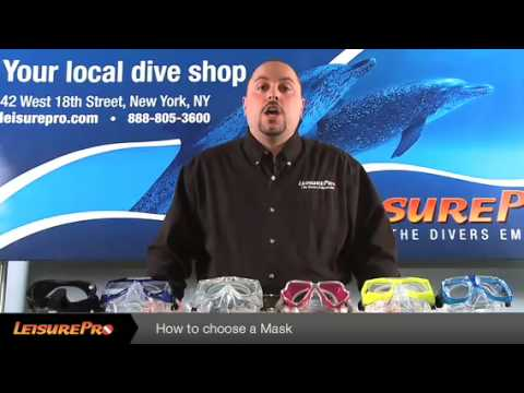 How to Choose a Dive Mask - By Leisurepro