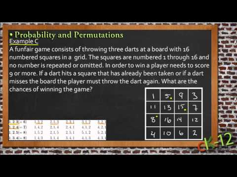 Probability and Permutations: A Sample Application