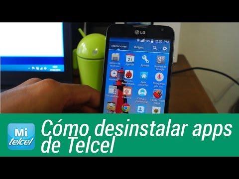 Cómo desinstalar aplicaciones de Telcel en LG L70