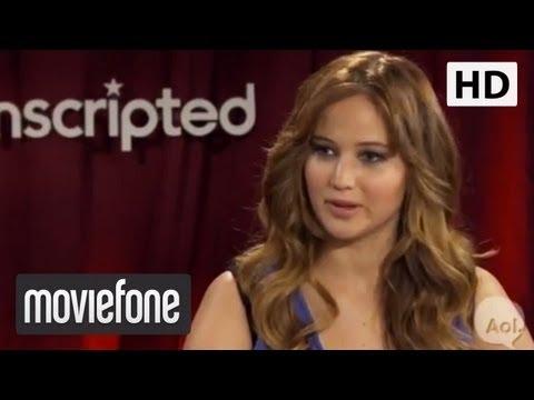'Hunger Games' Unscripted: Jennifer Lawrence, Josh Hutcherson, Elizabeth Banks   Moviefone