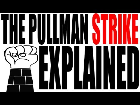an analysis of the pullman strike of 1894 in the united states of america The pullman strike was a nationwide railroad strike in the united states that  lasted from may 11 to july 20, 1894, and a turning point for us labor law it pitted  the american railway union (aru) against the pullman company,  pullman  strike: an analysis of the coverage and interpretation of the railroad strike of  1894.
