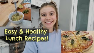 Easy & Healthy Lunch Recipes! | G Hannelius