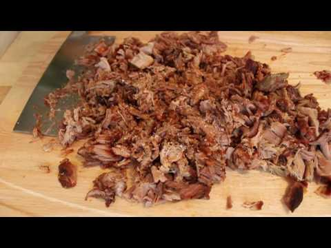 Pulled Pork Shoulder Barbecue - Oven