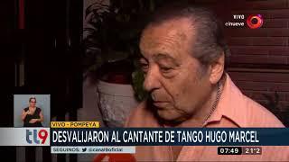 Desvalijan al cantante de tango Hugo Marcel