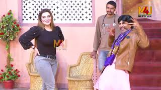Sajan Abbas and Khushboo With Amanat Chan Stage Drama Kurian Tik Tok Full Comedy Clip 2019