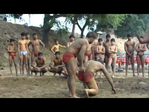 Guru Inder Akhara- Part -2 (wrestling techniques demo) Image 1