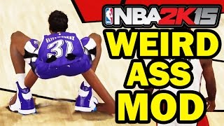 Funniest MyPlayer Mod Ever! NBA 2K16 2K15 - Funny Gameplay HD 60 FPS