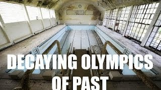 Amazing Abandoned Olympic Venues From Around The World Today - Eerie abandoned olympic venues around the world