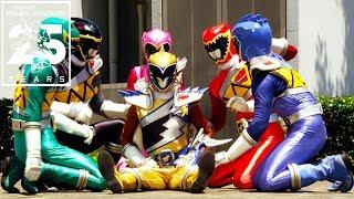 Power Rangers   Dino Charge Ranger Defeats!
