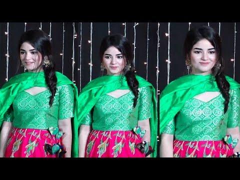 Zaira Wasim Looks Beautiful At Priyanka Chopra And Nick Jonas Wedding Reception thumbnail