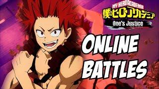 My Hero Academia One's Justice: Kirishima Online Battles