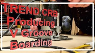 How to make V Board with the TREND CRB, save money and fast turn around