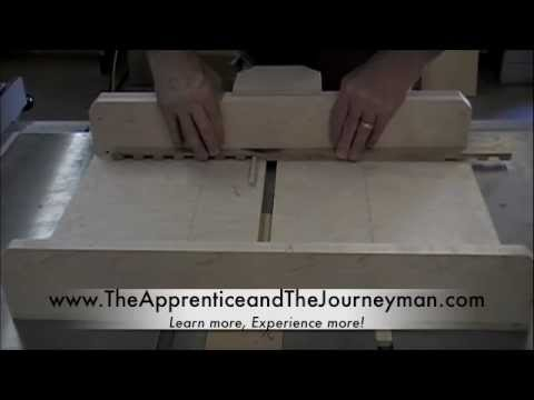 Woodworking Project - How to Make Dentil Moulding on the Table Saw Dado Sled - YouTube