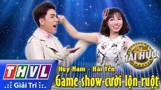THVL l Cặp đôi hài hước - Tập 3 [6]: Game show cười lộn ruột - Huy Nam, Hải Yến