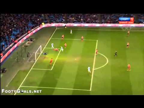 Manchester City 5 0 Blackburn Rovers Goal Edin Dzeko Dzeko.