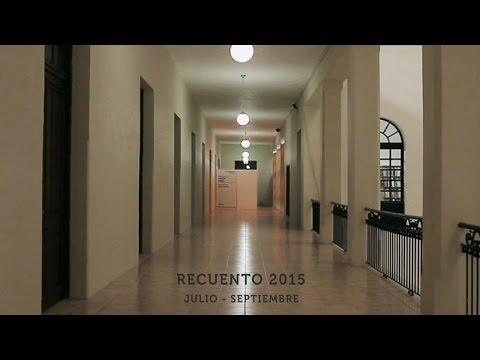 Video Recuento Julio - Septiembre 2015