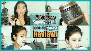Видео - Innisfree Super Volcanic Pore Clay Mask Review!