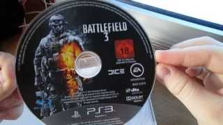 battlefield 3 premium edition unboxing ps3