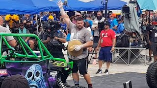 MARTINS LICIS 5POINTS LEAD BEFORE LAST EVENT - THE WORLD'S STRONGEST MAN 2019