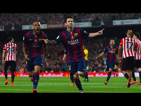 Lionel Messi - Amazing Solo Goal with Commentary 30.05.15 (Final Copa del Rey)