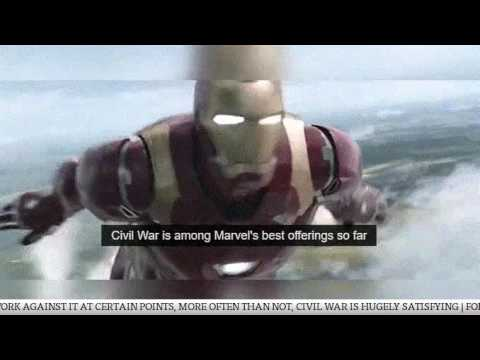 Captain America Civil War hits the screens today