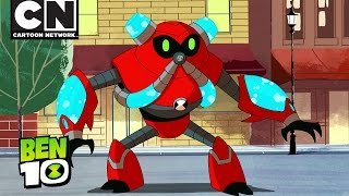 BEN 10 | Overflow Saves the Day! | Cartoon Network