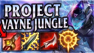 THE PENTAKILL TO PURIFY PASSED JUDGEMENT! Project Vayne Jungle - League of Legends Commentary