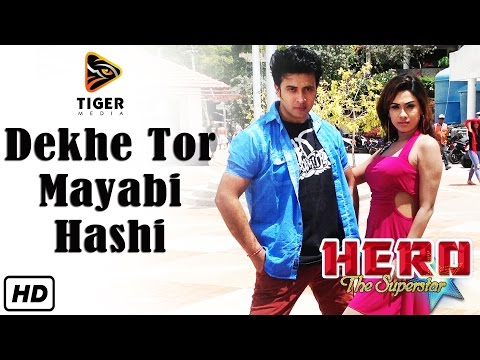Dekhe Tor Mayabi Hashi (hd Video Song) | Hero The Superstar (2014) | Shakib Khan & Bobby video