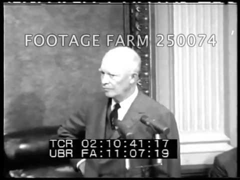 President Eisenhower's 123rd Press Conference & statement re Satellites Pt 3/3  250074-03