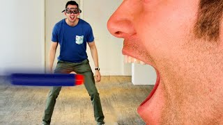 We Tried To Catch Nerf Darts With Our Teeth