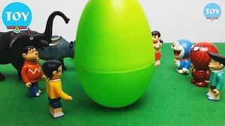 Đồ chơi Doremon - Nobita bất ngờ quả trứng khủng long khổng lồ