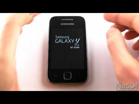 How to unlock a Samsung Galaxy Y