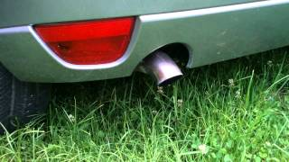 My 2003 Ford Focus MK1 1.8 TDDi standard exhaust sound