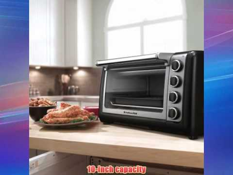 KitchenAid KCO111OB Countertop Oven Onyx Black Best Buy - YouTube