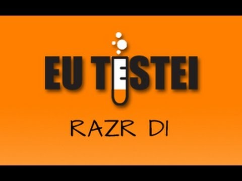 Smartphone Motorola RAZR D1 XT916 - Resenha Brasil