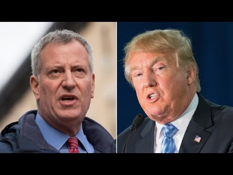 Bill de Blasio: Trump is right about New York