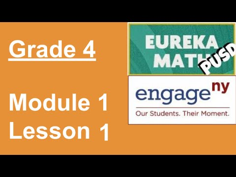 Eureka Math Grade 4 Module 1 Lesson 1 YouTube