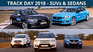 CarWale Track Day 2018 | Testing the SUVs & Sedans