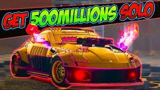 Unlimited solo - GTA 5 Money Glitch *Get 500 Million$ Per Min* gta 1.46 online money glitch