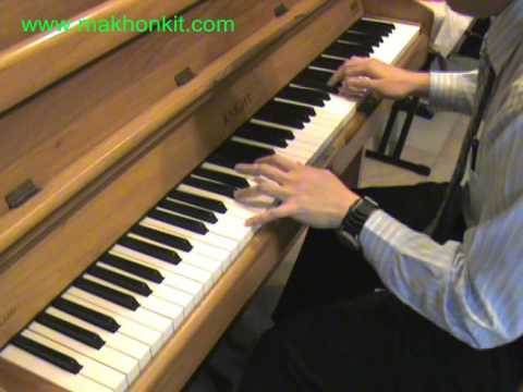 Kiss - Because I'm A Girl Piano By Ray Mak - Reup video