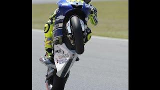 MotoGP Mugello 2016 impennata Valentino Rossi