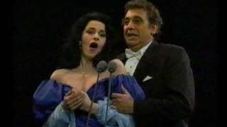 Angela Gheorghiu/Placido Domingo - La Traviata - Brindisi - Prague 1994
