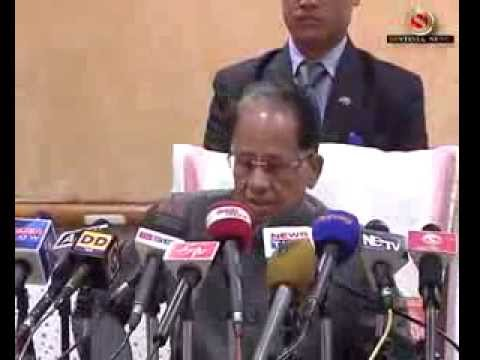 ▶ Tarun Gogoi on various issue of Assam