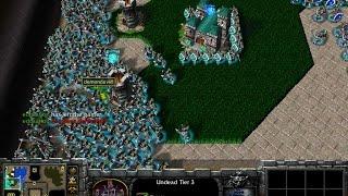 WARCRAFT III: The Frozen Throne | EMPEZAMOS CON LOS CUSTOM MAPS! - FOOTMAN WARS -Gameplay Español