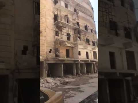 Carla Ortiz: people going home in east Aleppo